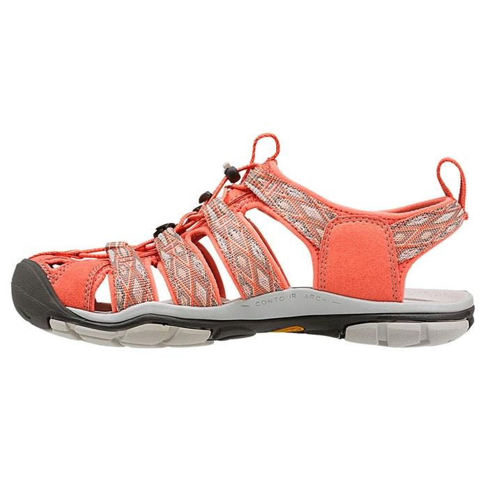 Clearwater cnx - sandales femme - orange/rouge rouge Keen