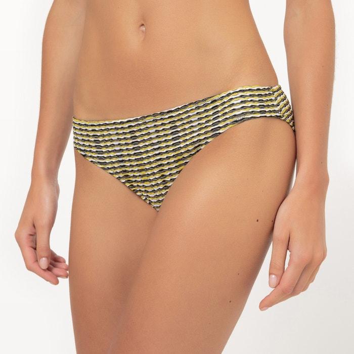Iridescent Jacquard Bikini Bottoms  La Redoute Collections image 0