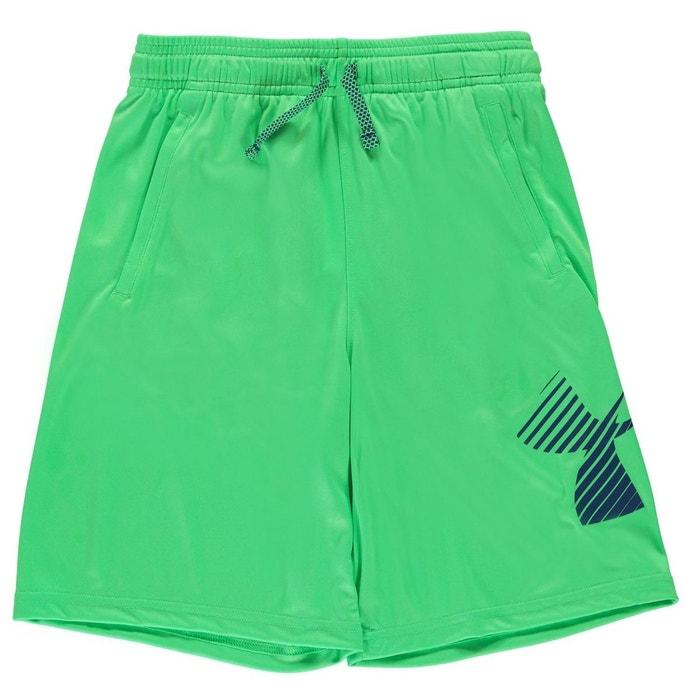 Short sportif taille élastique vert Under Armour  1c4514b3fe6