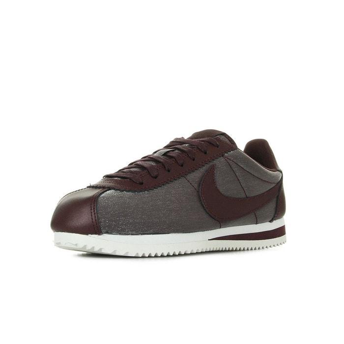 Chaussures Baskets Nike femme WMNS Classic Cortez Premium Acajou taille Violet