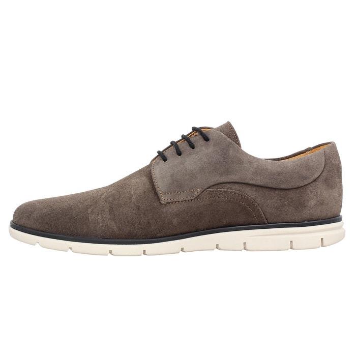 Chaussures à lacets homme schmoove shaft derby velours homme moka moka Schmoove