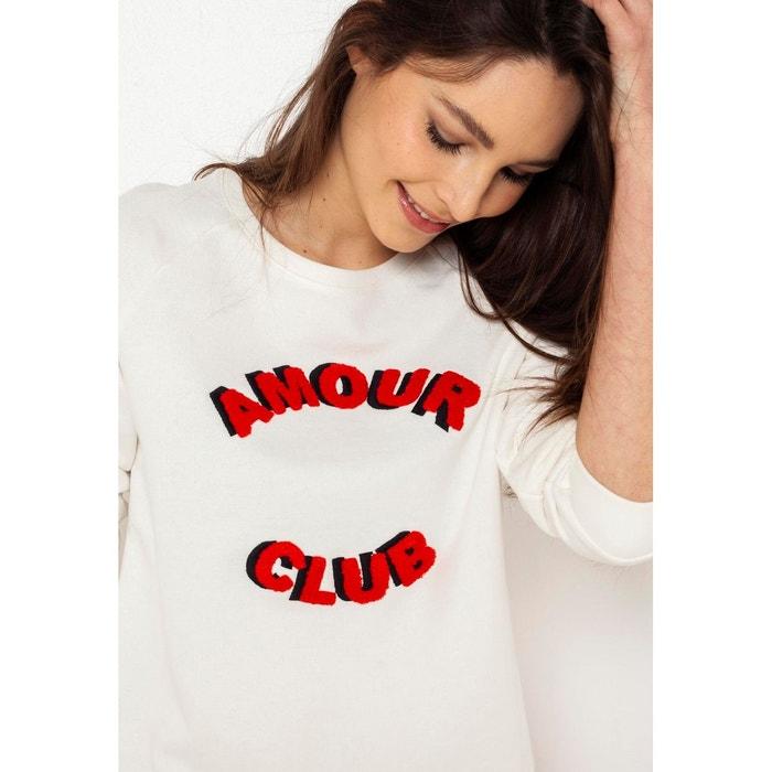 87cafdb344c Sweat amour club Camaieu