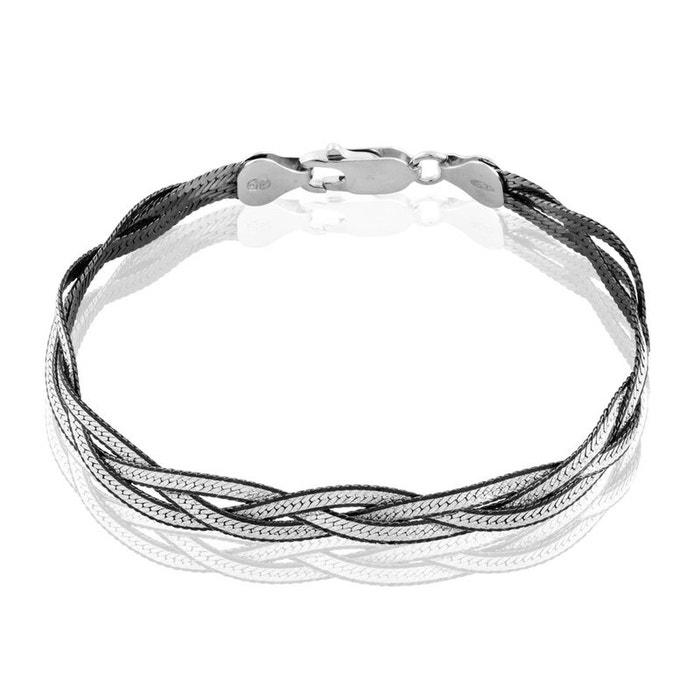 Bracelet argent blanc Histoire D'or | La Redoute Acheter Magasins D'usine Pas Cher DLJy4