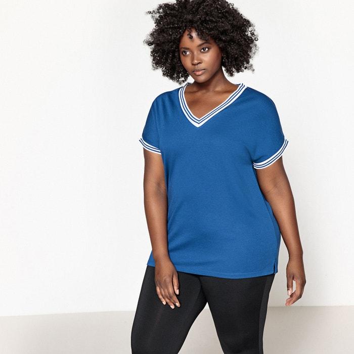 T-Shirt, V-Ausschnitt  CASTALUNA image 0