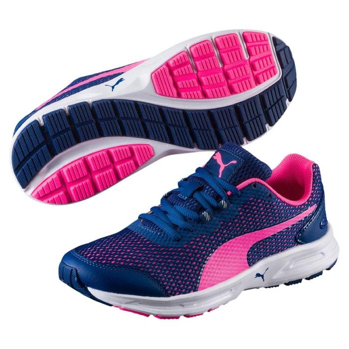 Chaussure de course descendant v4 pour femme true blue-knockout pink Puma