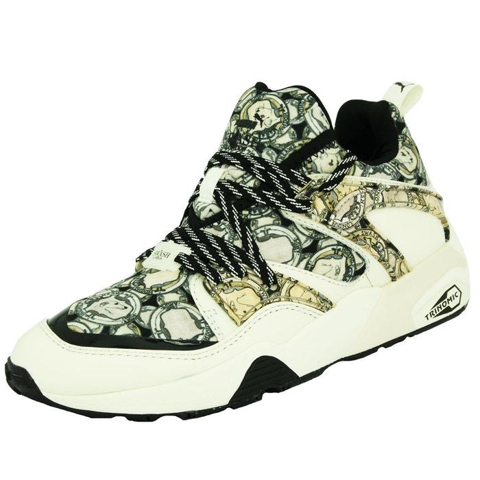 Puma blaze og x swash fg chaussures mode sneakers unisexe noir trinomic  noir Puma  La Redoute