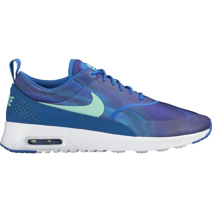 Wmns air max thea print - baskets - 599408 bleu Nike