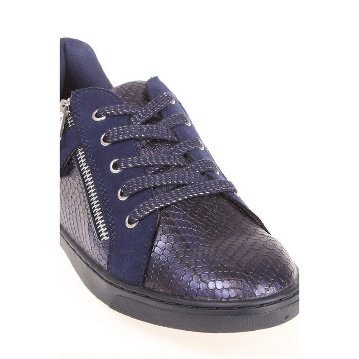 Baskets féminines bleu nuit Breal