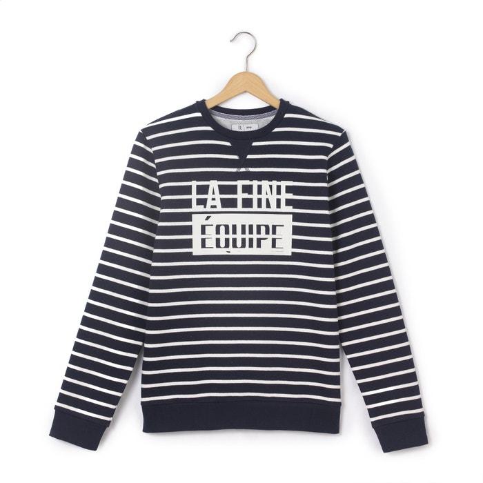 afbeelding Gestreepte sweater met ronde hals La Redoute Collections