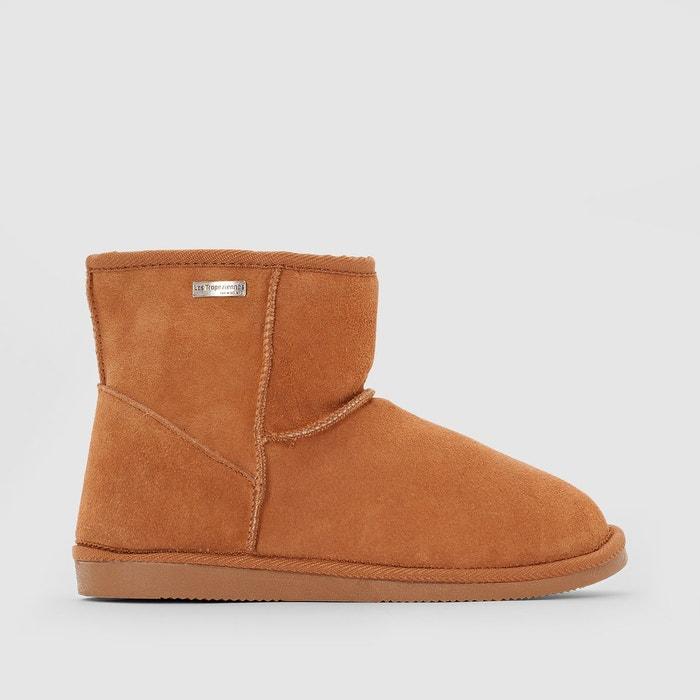 b71665363e96be Boots cuir fourrées flocon Les Tropeziennes Par M Belarbi | La Redoute