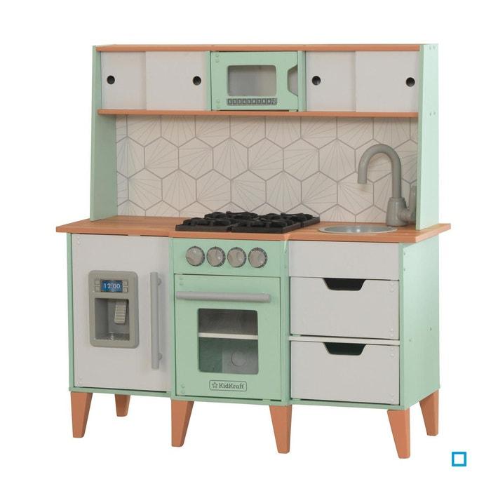 cuisine enfant en bois mid century kid53432 multicolore kidkraft la redoute. Black Bedroom Furniture Sets. Home Design Ideas