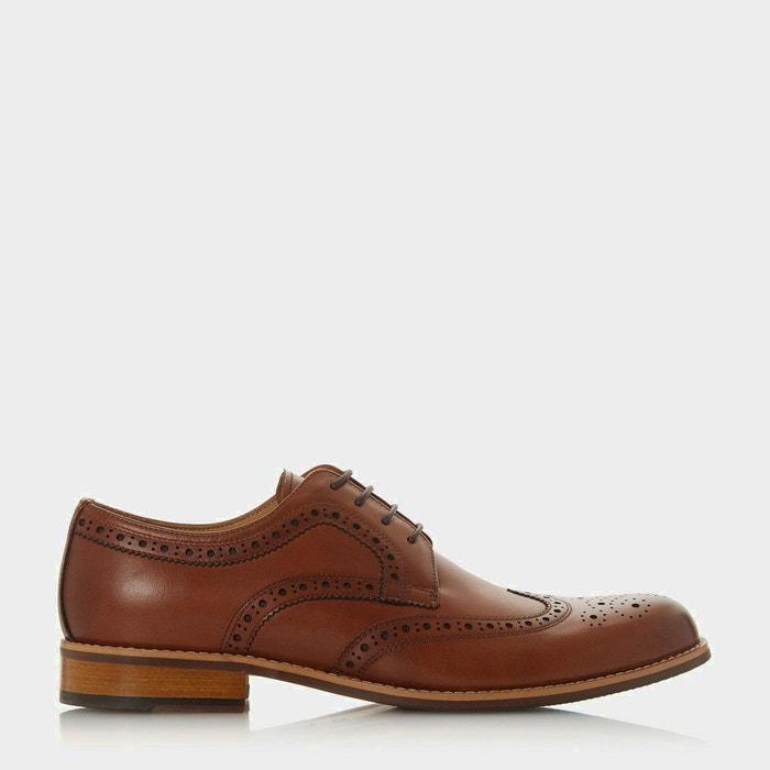 19ef8740162604 Chaussures richelieu à lacets - raidcliffe fauve cuir Dune London | La  Redoute