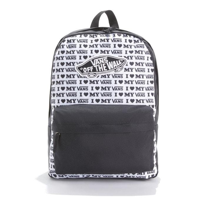 64952c1d64 Sac à dos realm backpack noir/blanc Vans | La Redoute