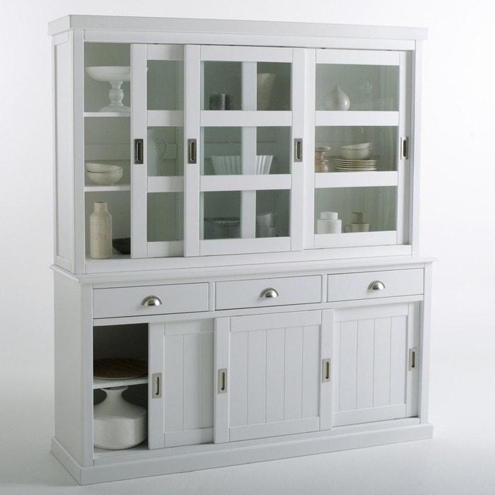 vaisselier 3 portes coulissantes inqaluit la redoute interieurs la redoute. Black Bedroom Furniture Sets. Home Design Ideas