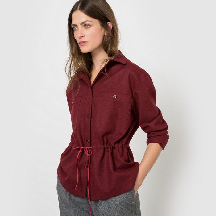 Image Drawstring Waist Shirt COLLECTOR X LA REDOUTE MADAME