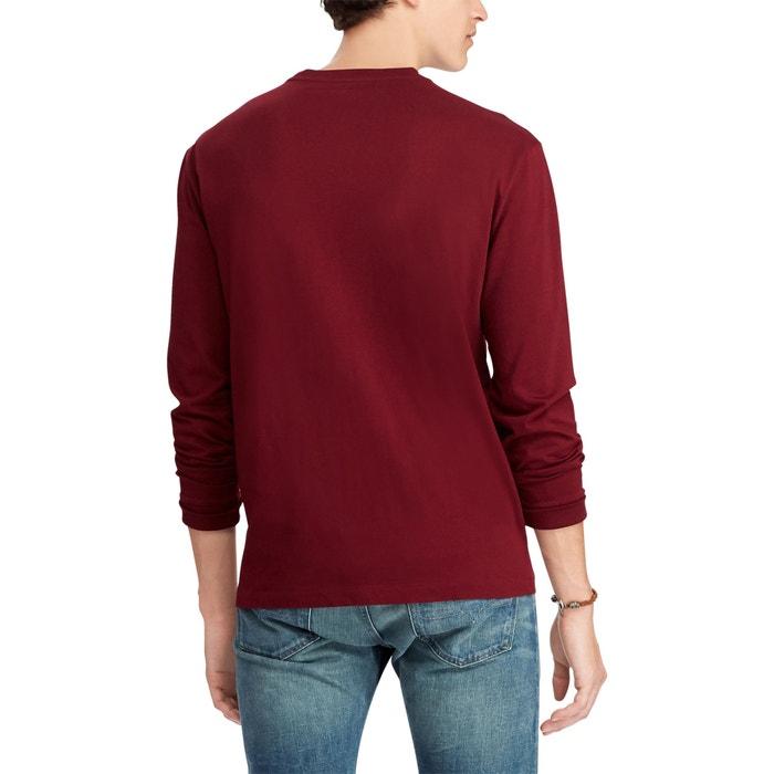 T Jersey Manches Shirt Longues De En Coton PkuOXZTi