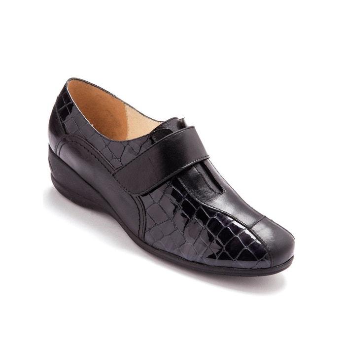93a758f88aa4 Chaussures derbies à patte auto-agrippante largeur confort Pediconfort