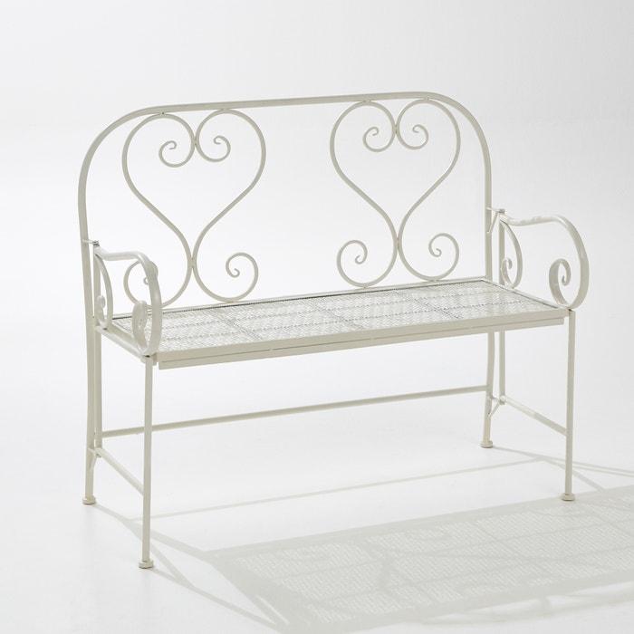 Image Openwork Metal Bench, Length 110cm La Redoute Interieurs