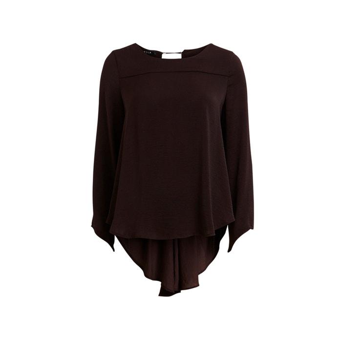 Image Soepele blouse, laagjeseffect, lange mouwen VILA