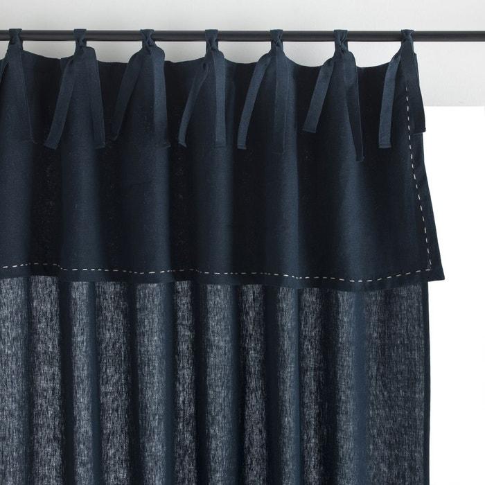 rideau lin lav bogotti am pm la redoute. Black Bedroom Furniture Sets. Home Design Ideas