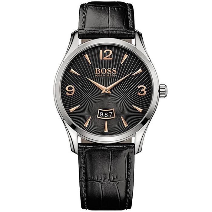 La Sortie Large Gamme De Montre boss cuir noir Boss Réduction Par Carte De Crédit 6ltOAzqCq