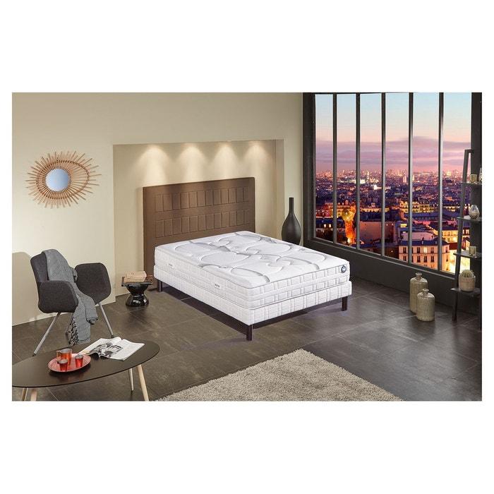 ensemble matelas mousse bultex nano clearness et s blanc. Black Bedroom Furniture Sets. Home Design Ideas