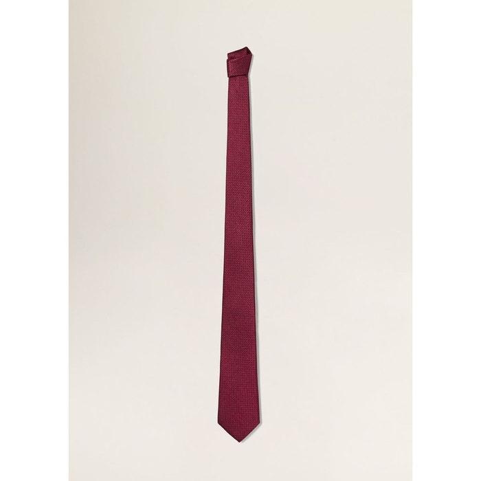 Cravate soie à motif géométrique Mango Man | La Redoute Pas Cher En Ligne Collections Discount Z5Od8Tb1N