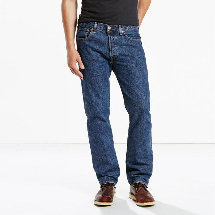 Image Jean grande taille coupe droite 501 long. 34 LEVI'S