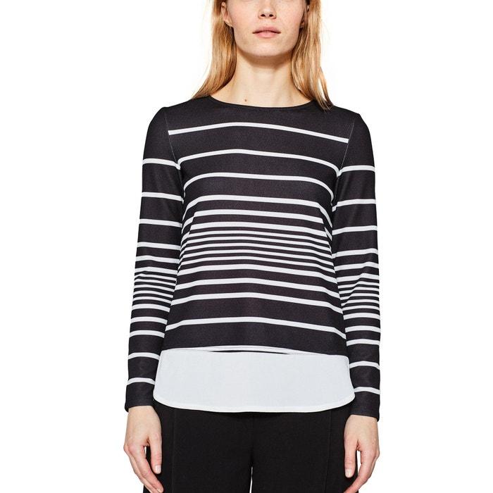 T-shirt con scollo rotondo, maniche lunghe  ESPRIT image 0