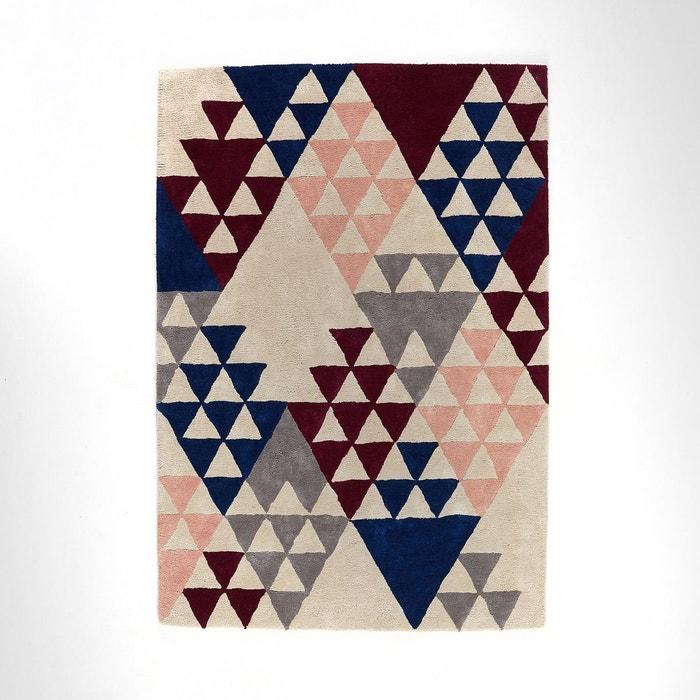tapis pur coton tuft biasto multicolore la redoute. Black Bedroom Furniture Sets. Home Design Ideas