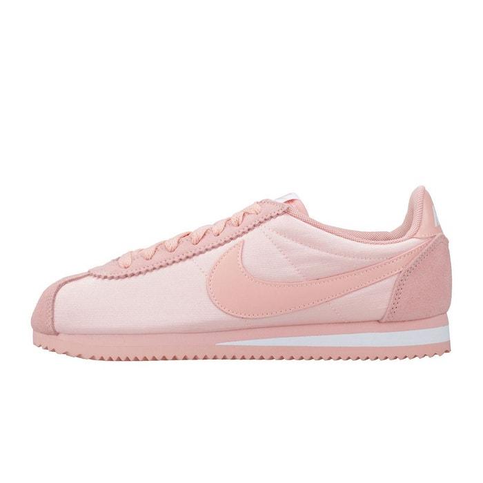 ad359bde29f Basket classic cortez nylon rose Nike