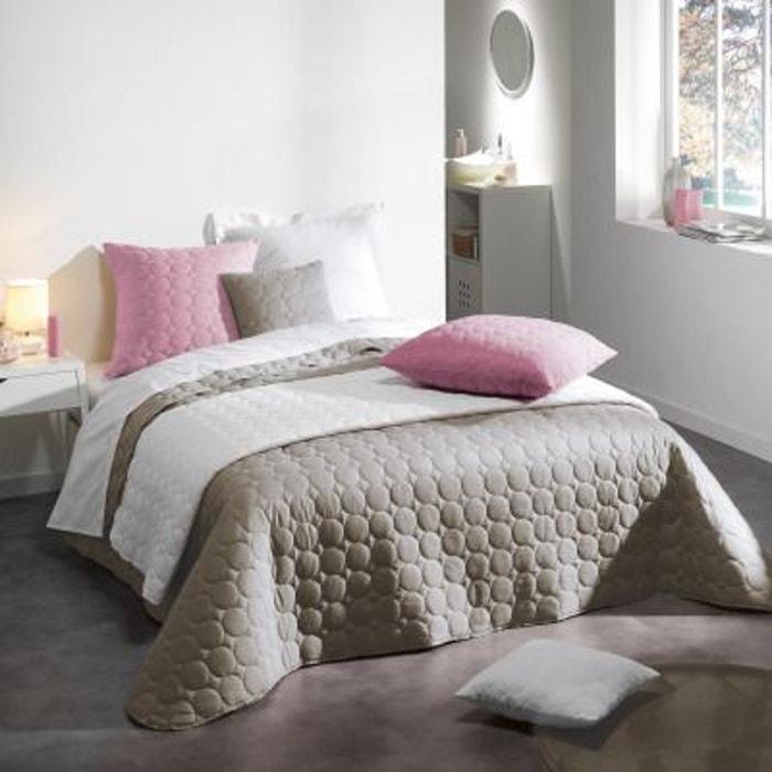 couvre lit matelass 220x240 microfibre candy home maison la redoute. Black Bedroom Furniture Sets. Home Design Ideas