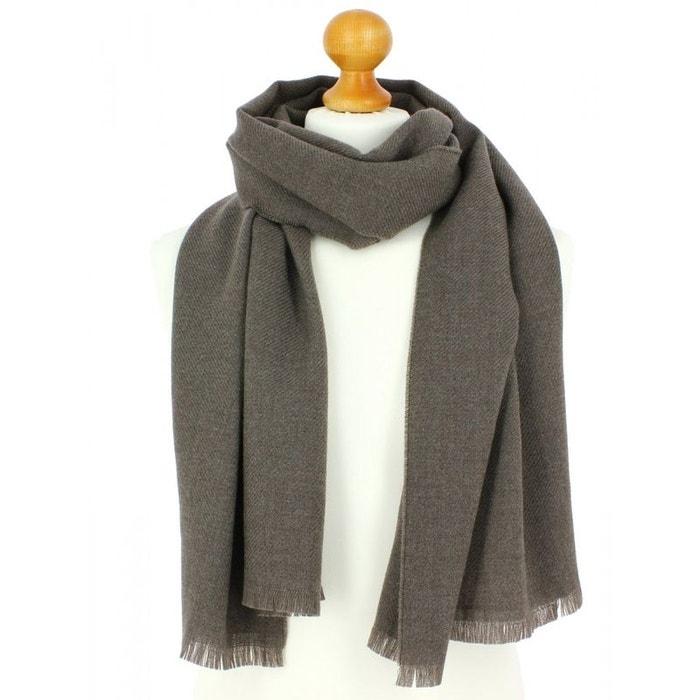 Echarpe en laine d'australie, 50x190cm, gris taupe gris Tony Et Paul | La Redoute