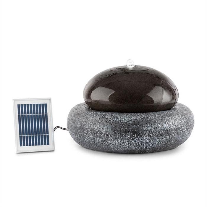 Ocean planet fontaine de jardin 200 l/h panneau solaire 2w batterie ...