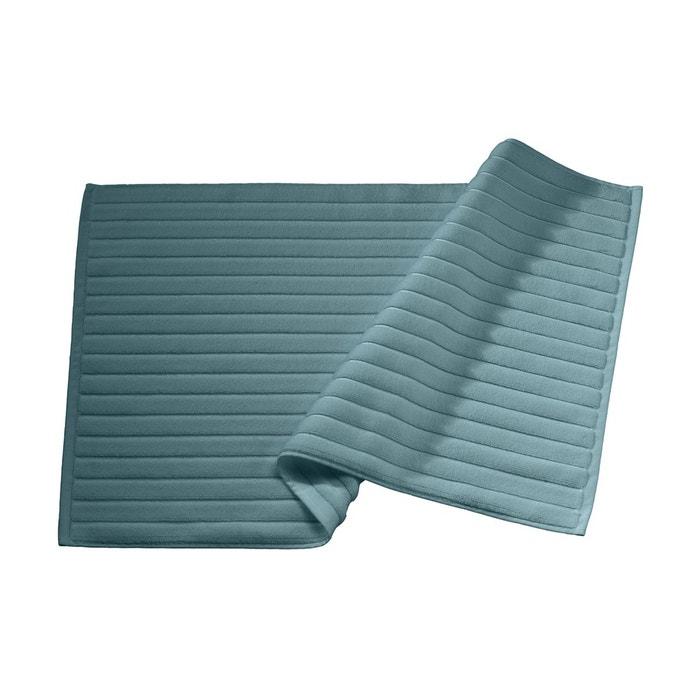 tapis de bain lagon coton peign 1000 g m lagon blanc. Black Bedroom Furniture Sets. Home Design Ideas