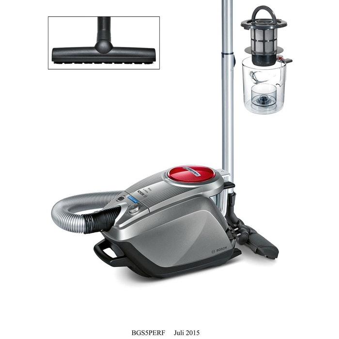 aspirateur sans sac gs 50 relaxx x bgs5perf gris bosch la redoute. Black Bedroom Furniture Sets. Home Design Ideas