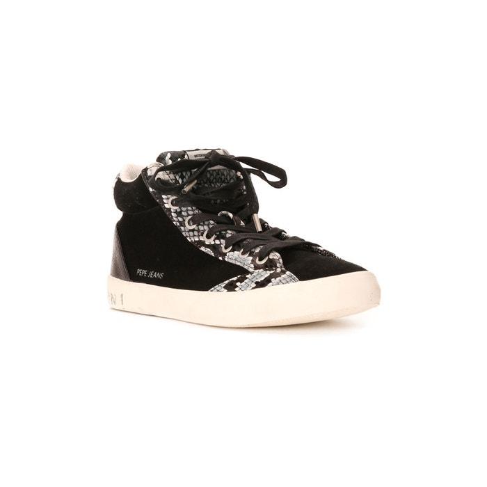 Baskets noir Pepe Jeans