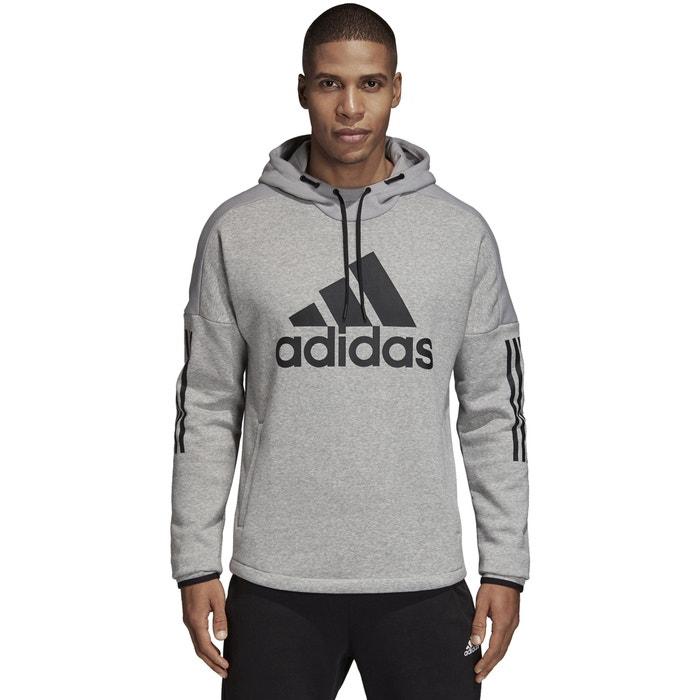 Capuche Chiné Gris Performance Adidas La Redoute Sweat À RTxZSnwqT5