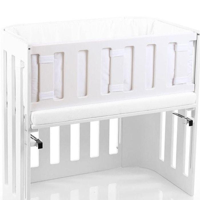 tour de lit 4 me c t cododo babybay blanc blanc babybay la redoute. Black Bedroom Furniture Sets. Home Design Ideas