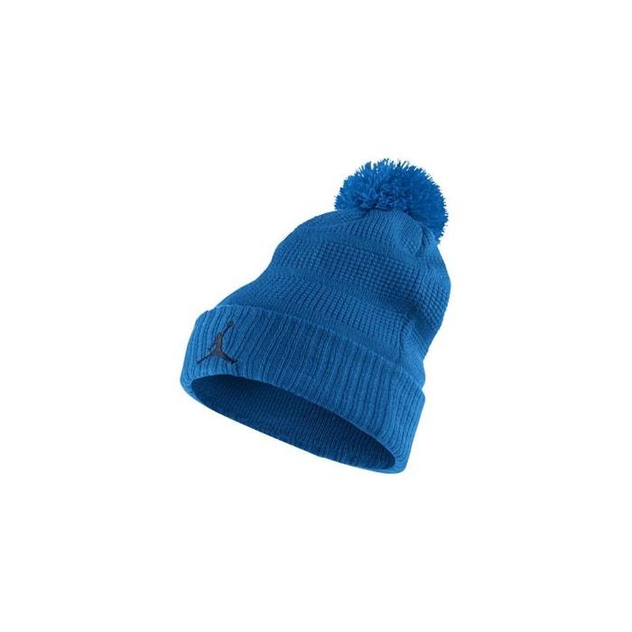 Bonnet jordan pom beanie bleu Nike | La Redoute Large Gamme De Pas Cher En Ligne Liquidations De Nombreux Types De lD9DfL
