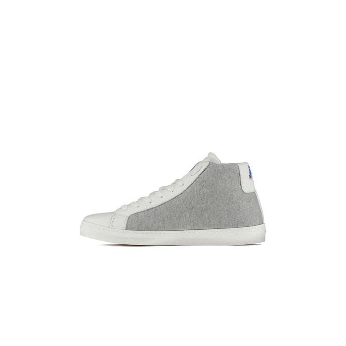 Sneakers homme fleecy american college cuir gris blanc gris American College