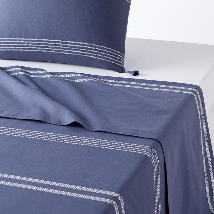 drap plat brod riad la redoute interieurs la redoute. Black Bedroom Furniture Sets. Home Design Ideas