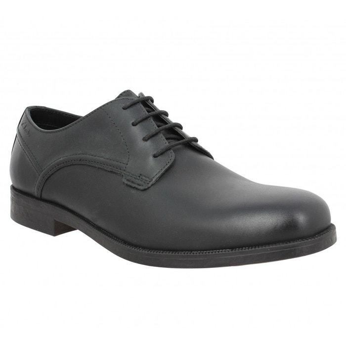 Chaussures à lacets homme clarks brocton walk cuir-395-noir noir  noir Clarks  La Redoute