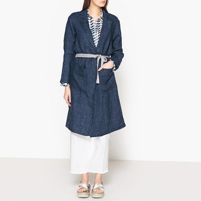 Marizo Long Pure Linen Coat  DIEGA image 0