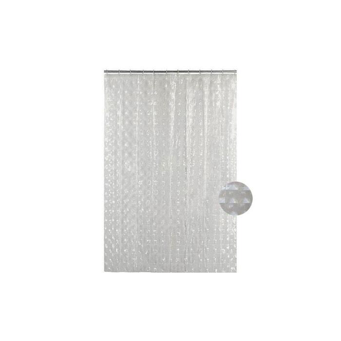 rideau de douche effet jeu de miroirs transparent home. Black Bedroom Furniture Sets. Home Design Ideas