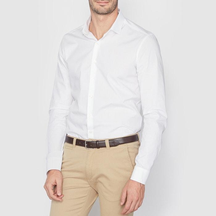 afbeelding Slim hemd in 100% katoen R essentiel