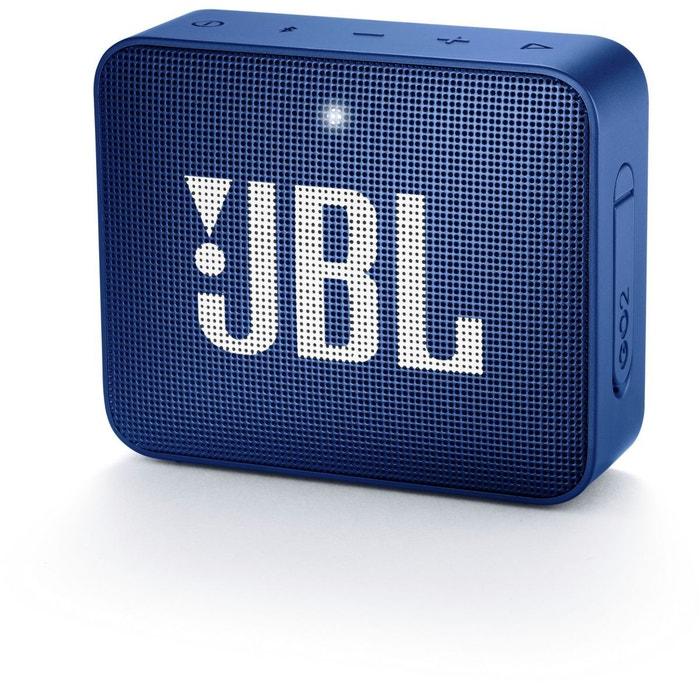 enceinte bluetooth jbl go 2 bleu couleur unique jbl la redoute. Black Bedroom Furniture Sets. Home Design Ideas