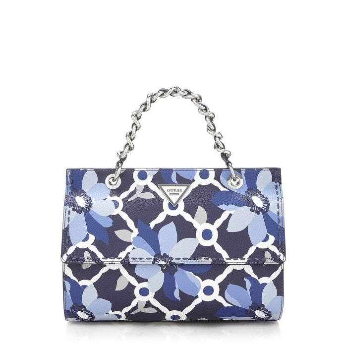 8248aab11460 Moins De 50 Dollars Prix Pas Cher En Ligne Sac sawyer imprime fantaisie  blau multi Guess