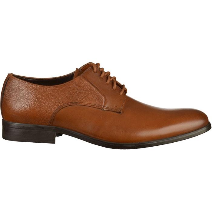 ClarksLa Redoute Chaussures Basses Cuir Verni Marron mvN8n0wOyP