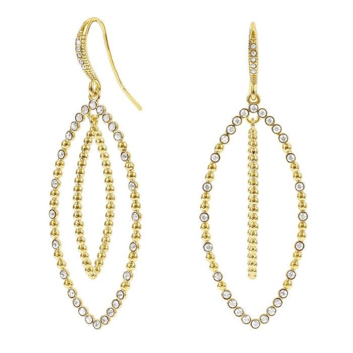 Boucles oreilles adore métal cristal blanc Adore | La Redoute Le Plus Récent En Ligne RDS4Ya
